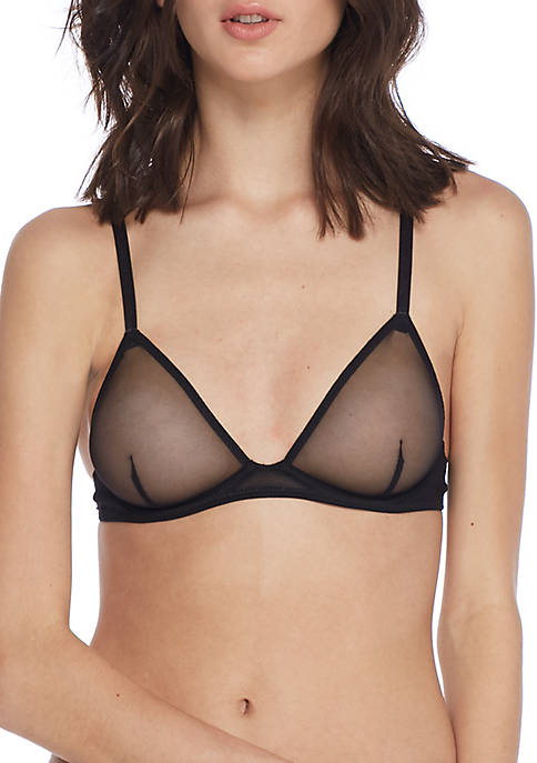 Free People Mesh Triangle Bra