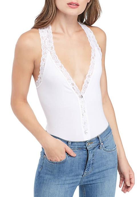 Free People Naughty But Nice Bodysuit