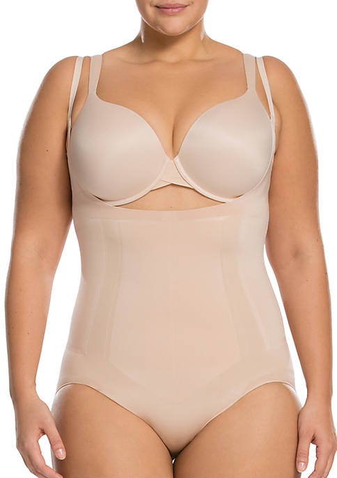 SPANX® Oncore Open-Bust Bodysuit-Plus Sizes-10129P