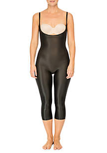 Suit Your Fancy Open-Breast Catsuit