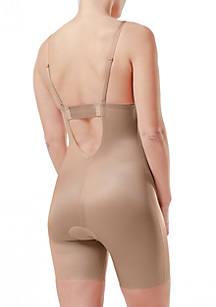 ... SPANX® Suit Your Fancy Plunge Low-Back Mid-Thigh Bodysuit -10157R ... 4494cd59f