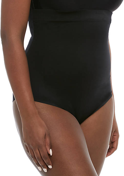 Suit Your Fancy High Waisted Thong