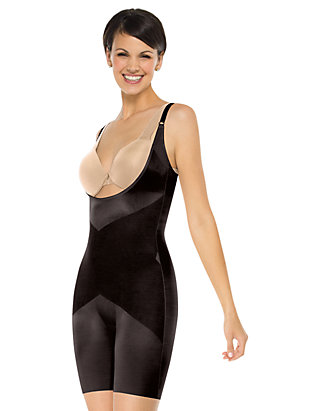 dd059cd41c5 SPANX® Skinny Britches Open-Bust Mid-Thigh Body - 1909