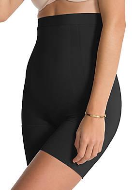 Womens On Core High Waist Mid Thigh Shorts