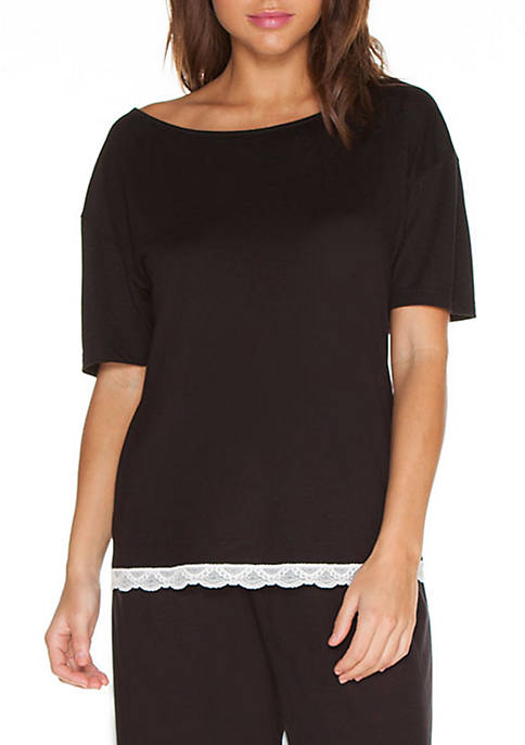 Cosabella® Majestic Short Sleeve Top