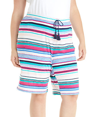 0bb717d204 New Directions®. New Directions® Plus Size Bermuda Sleep Shorts