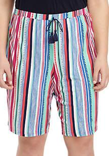New Directions® Plus Size Bermuda Sleep Shorts