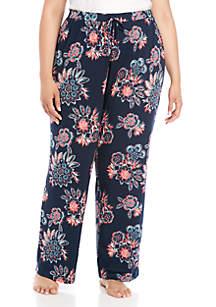 New Directions® Plus Size Sleep Pants