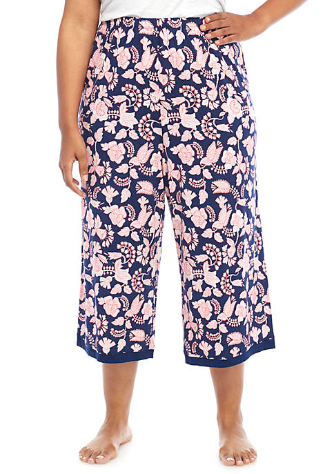 New Directions® Plus Size Sleep Capri