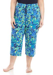 f644079ca3a76 ... New Directions® Plus Size Sleep Capri Pants