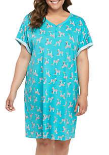 New Directions® Plus Size Sleep Shirt