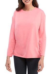 Boat Neck Pullover Lounge Top