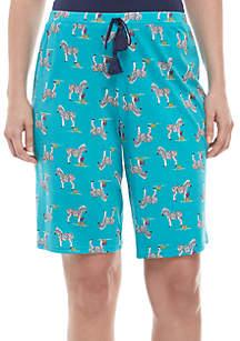 New Directions® Bermuda Sleep Shorts