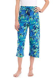 New Directions® Sleep Capri Pants