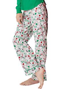 Polar Bear Flannel Sleep Pant