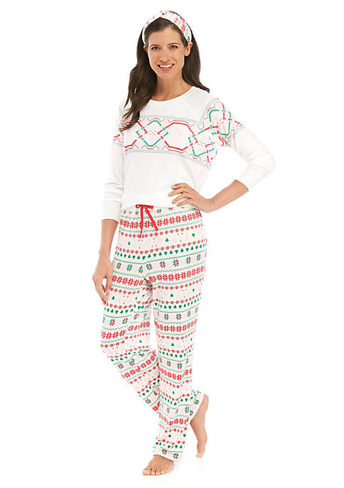 Crown & Ivy™ 3 Piece Folded Sweater Knit