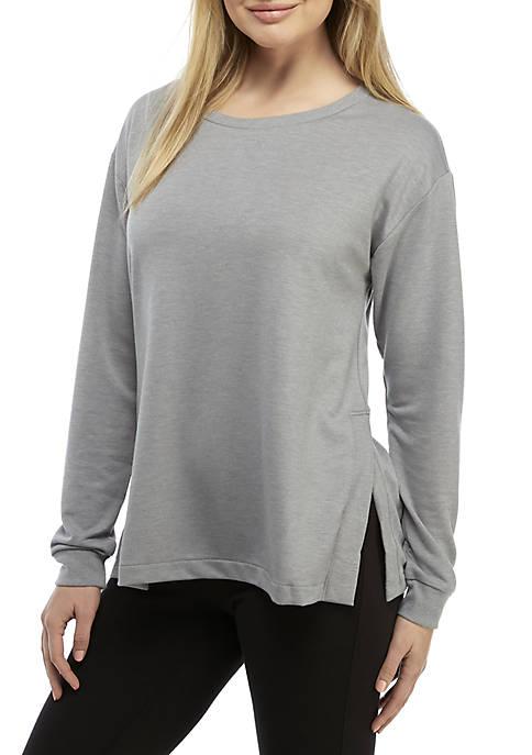 Side Slit Sleep Sweatshirt