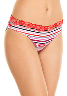 Print Cross Dye Bikini