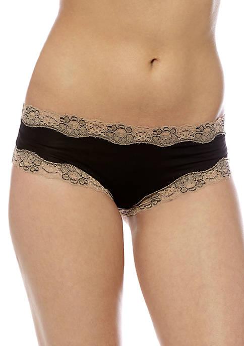 New Directions® Crossdye Solid Tanga Panty