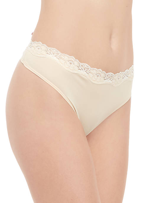 New Directions® Solid Crossdye Thong
