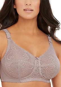 Classic Lace Support Bra