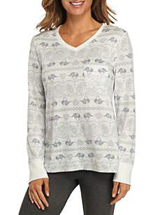 Long Sleeve Whisper Luxe Sleep Shirt