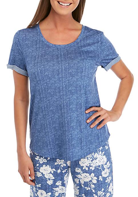 New Directions® Short Rolled Cuff Sleeve Lush Sleep