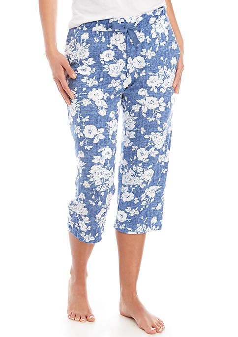 Lush Luxe Capri Sleep Pants