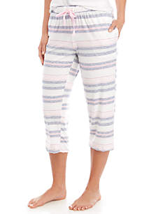 New Directions® Lush Luxe Capri Sleep Pants