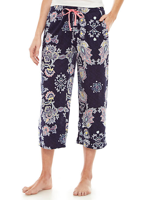 New Directions® Whisper Capri Pajama Pants