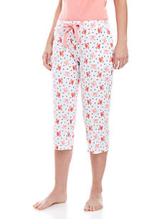 New Directions® Lush Lux Capri Sleep Pants