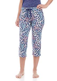 New Directions® Lush Lux Capri Sleep Pants