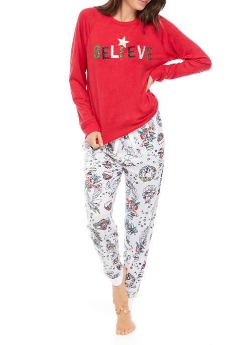 Womens Whisper Joyland Pajama Set