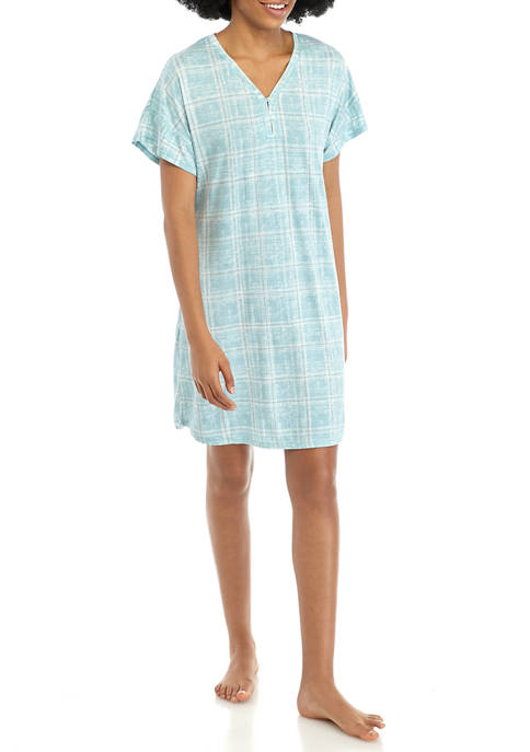 Lush Henley Sleep Gown