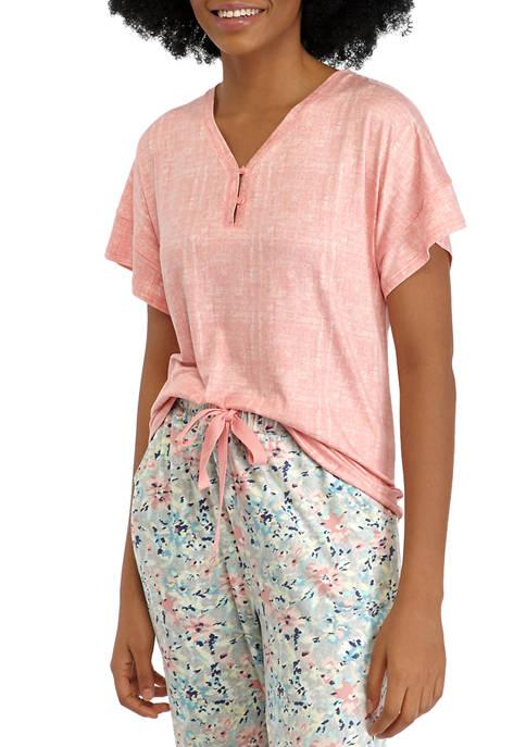 Lush Henley Sleep T-Shirt