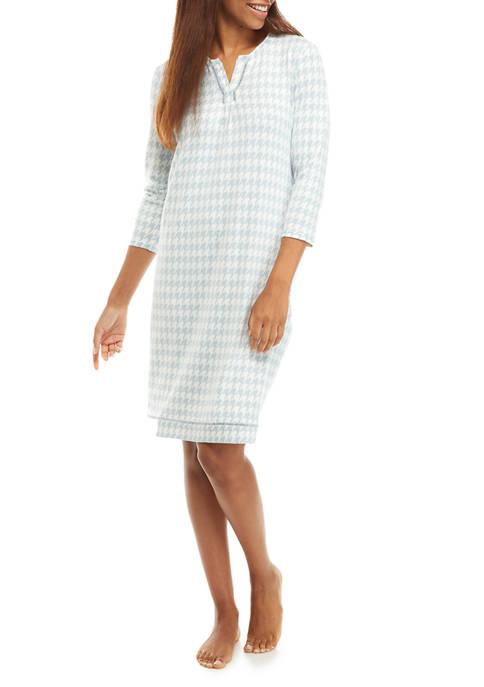 Kim Rogers® Whisper Geometric Sleep Shirt