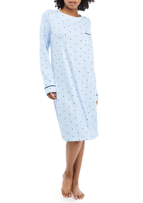 Kim Rogers® Boat Neck Short Gown