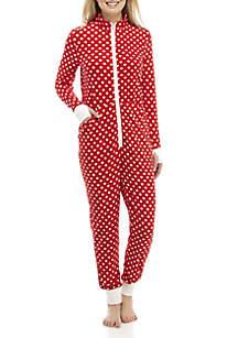 One-Piece Sleepsuit with Thumbholes
