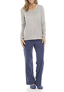 3-Piece Pajama Set and Sock