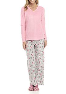 3-Piece Pajama and Sock Set