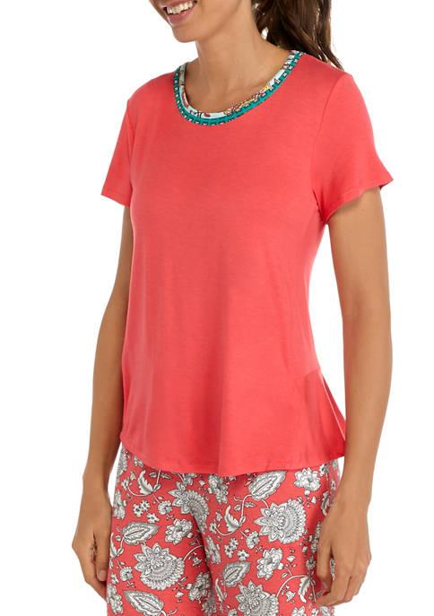 Layla® Short Sleeve Sleep T-Shirt