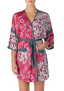 Layla® 3/4 Sleeve Kimono Robe