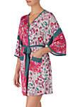 3/4 Sleeve Kimono Robe