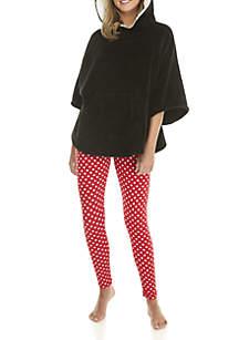 2-Piece Penguin Poncho and Legging Set