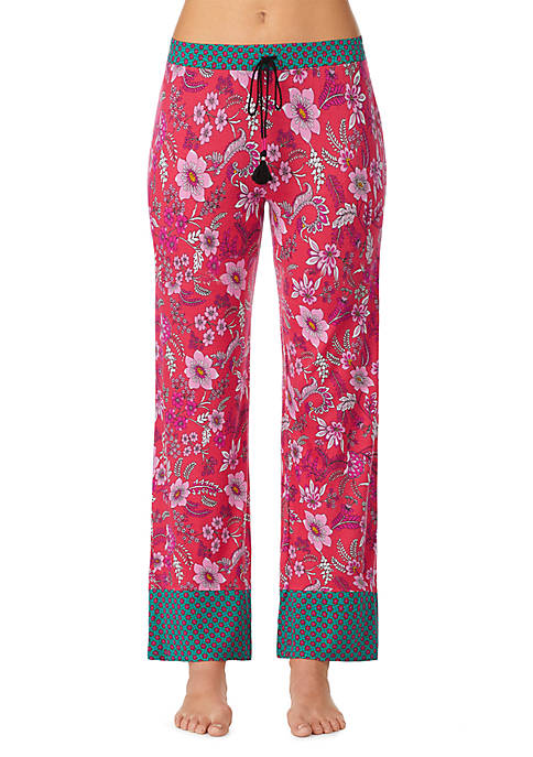 Layla® Border Trim Pajama Pants