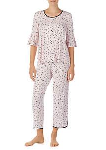 Short Sleeve Modal Goodnite 2-Piece Pajama Set