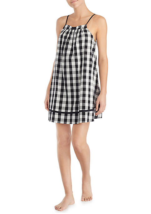 kate spade new york® Gingham Lawn Chemise