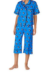 kate spade new york® 2-Piece Short Sleeve Lawn Pajama Set