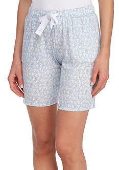 Nautica Cotton Print Bermuda Shorts