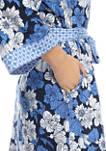 Womens Floral Kimono Robe